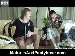 Rita&Rolf mature pantyhose videotape